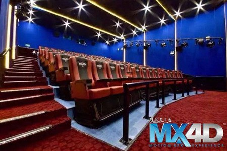 themed entertainment 4D theatre by MediaMation